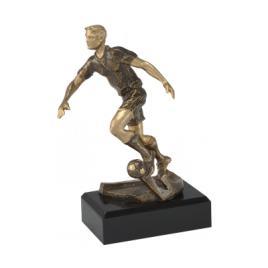 Trofeu Figurina din Rasina Fotbal cu inaltime 20 cm