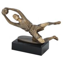 Trofeu Figurina din Rasina Portar cu inaltime 15 cm