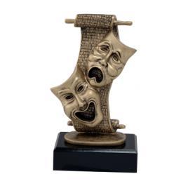 Trofeu Figurina din Rasina Teatru cu inaltime 20 cm