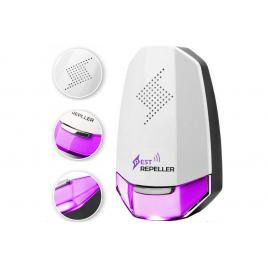 Dispozitiv cu ultrasunete anti-daunatori, rozatoare sau insecte, suprafata 100mp, 8w, culoare violet