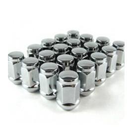 Piulite jante aluminiu m12x1.25 cap cheie 19 maniacars