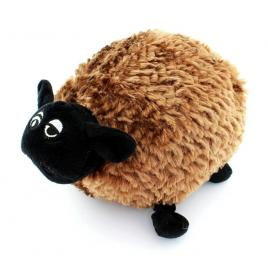 Mascota din plus oita, lungime 28cm, culoare maro