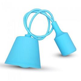 Pendul tavan albastru deschis 1m, e27