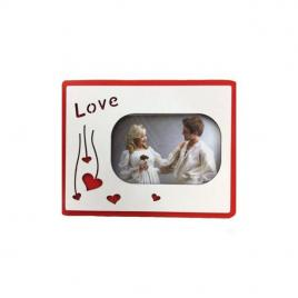 rama foto inscriptionata 3d cu litere love