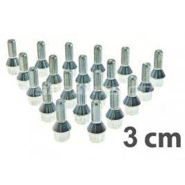 Prezoane roata  m14x1.25, 3 cm lancia delta 844 06/2008 >