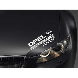 Sticker performance - opel maniastiker