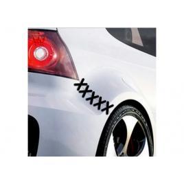 Sticker auto cusatura, 20x6 cm