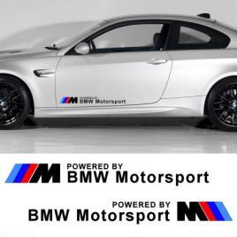 Sticker auto laterale bmw motorsport (set 2 buc.) maniastiker