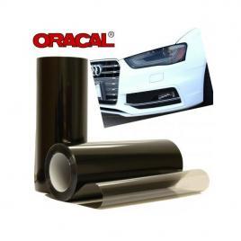 Folie protectie faruri/stopuri dark black 60x60cm maniacars