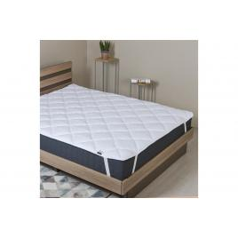 Protectie de saltea matlasata Comfort cu 4 elastice 160x200 cm