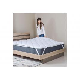 Protectie saltea matlasata Lux cu 4 elastice 90x200