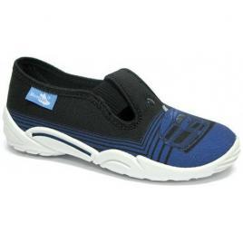 Pantofi pentru casa sau gradinita interior/exterior RenBut CZARNY AUTO