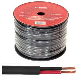 Cablu difuzor rotund 2x1.5mm 100m negru