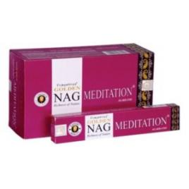 Betisoare parfumate Golden Nag Meditation
