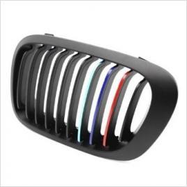 Sticker auto pentru grila aer model bmw ///m power (3 buc - 35cm x 1cm) maniastiker