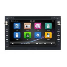 Navigatie gps audio video cu dvd si touchscreen volkswagen vw passat b5 2001-2005 + cadou card gps 8gb