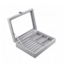 Cutie pentru bijuterii B2 blocabila si compartimente detasabile