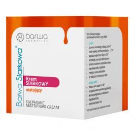 Crema faciala matifianta si antibacteriana cu sulf Barwa, 15 ml