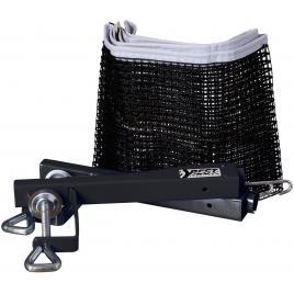 Plasa fileu pentru tenis de masa, cu suport, reglare tensiune si inaltime, negru