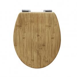 Capac WC MDF bambus cu inchidere lenta AWD02181598