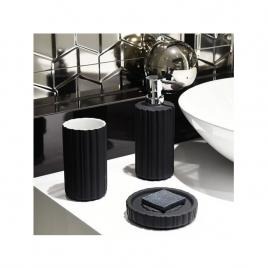 Set baie, 3 piese INDUSTRIO AWD02191505, negru mat