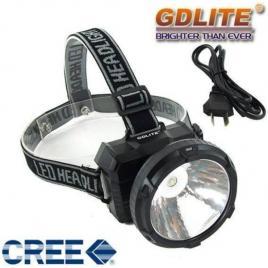 Lanterna frontala cu acumulator si led de 1w gdlite gd-211