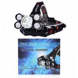 Lanterna frontala high power cu 5 leduri puternice cree
