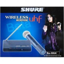 Microfon profesional wireless cu reciver shure beta ba-300a