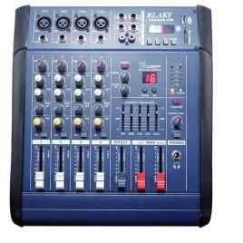 Mixer audio profesional amplificat 200w cu 4 canale si bluetooth pmx402d-usb