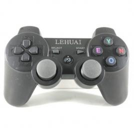 Joystick gamepad controller fara fir dublu shock 3 black playstation 3