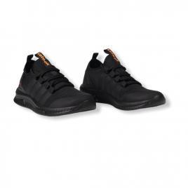 Sneakers Letoon Negru din material textil flexibil 2104