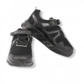 Sneakers copii, Letoon Tom Kids negru