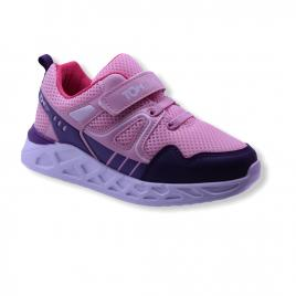 Sneakers copii, Letoon Tom Kids roz