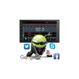 Navigatie 2din universala android ecran 7'' ips touchscreen bluetooth gps 1gb+16gb usb