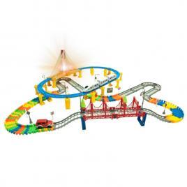 Set de joaca circuit de curse si cale ferata dream track