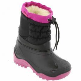 Cizme de zapada Negru Roz pentru Copii marca Muflon