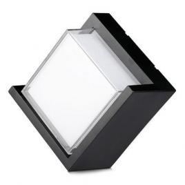 Lampa led exterior 12w ip65 4000k alb neutru - negru