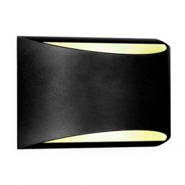 Lampa de perete led exterior 10w  ip54 4000k alb neutru - negru
