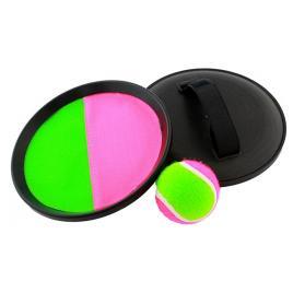 Set joc catch the ball cu 2 manusi discuri de prindere + 1 minge