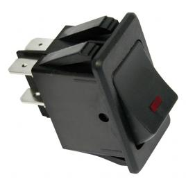 Intrerupator auto carpoint 12v 35a cu led rosu 20,40 x 35,20mm cu 4 papuci electrici kft auto