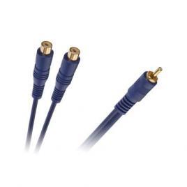 Cablu y rca tata - 2xrca mama 0.2m