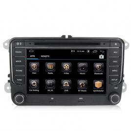 Navigatie Gps Android 10 VW Golf 5 6 Passat B6 B7 CC Tiguan Touran Jetta Eos Polo Sharan Amarok Caddy , 2GB RAM+16GB ROM, Internet , 4G , Aplicatii