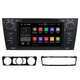 Navigatie Gps Android BMW Seria 3 E90 E91 (2005 - 2013) , 2GB RAM + 16GB ROM, Internet , 4G , Aplicatii , Waze , Wi Fi , Usb , Bluetooth
