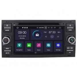Navigatie Gps Android Ford Focus Mondeo Fiesta Kuga Transit , 2GB RAM +16GB ROM , Internet , 4G , Aplicatii , Waze , Wi Fi , Usb , Bluetooth , Mirrorlink