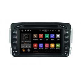 Navigatie Gps Mercedes C Class W203 Vaneo Vito Viano , Android 9.0 , 2GB RAM + 16GB ROM , Internet , 4G , Aplicatii , Waze , Wi Fi , Usb