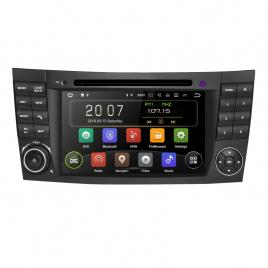 Navigatie Gps Mercedes E Class W211 , CLS W219 , Android 10 , 2GB RAM + 16GB ROM , Internet , 4G , Youtube , Waze , Wi Fi , Usb , Bluetooth , Mirrorlink