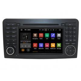 Navigatie Gps Mercedes ML W164 , GL X164 ( 2005 - 2012) , Android 10 , 2GB RAM + 16GB ROM , Internet , 4G , Aplicatii , Waze , Wi Fi , Usb , Bluetooth , Mirrorlink