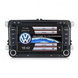 Navigatie Gps VW Golf 5 6 Passat B6 B7 CC Tiguan Touaren Jetta Eos Polo Sharan Amarok Caddy , Windows 6.0 , Dvd Player , Usb , Bluetooth , Card 8GB Europa full