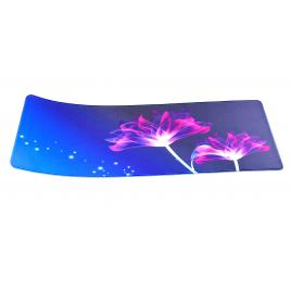 Mousepad LED RGB 800 * 300 * 4mm desen flori