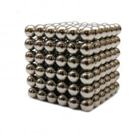 Joc puzzle antistres neocube cu 216 bile magnetice cu diametrul de 5mm